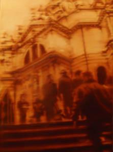 Chiesa della Salute -2011     olio su tela 40 x 60