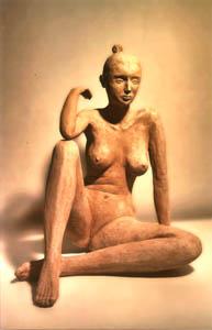 Stefania - 2012 terracotta h. cm 37