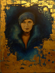 Gretha - 2010 acrilico su tela 60 x 80
