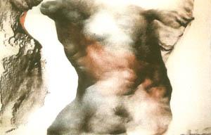 Universo Femminile n. 14 - 1985 strutturazione su tela cm 296 x 206, cmq 60976